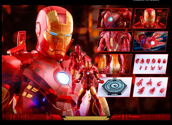 In Stock! Hot Toys MMS568 IRON MAN 2 1/6 IRON MAN MARK IV (HOLOGRAPHIC VERSION)
