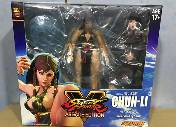Ready! STORM COLLECTIBLES Street Fighter V - Chun-Li (Battle Costume) NYCC