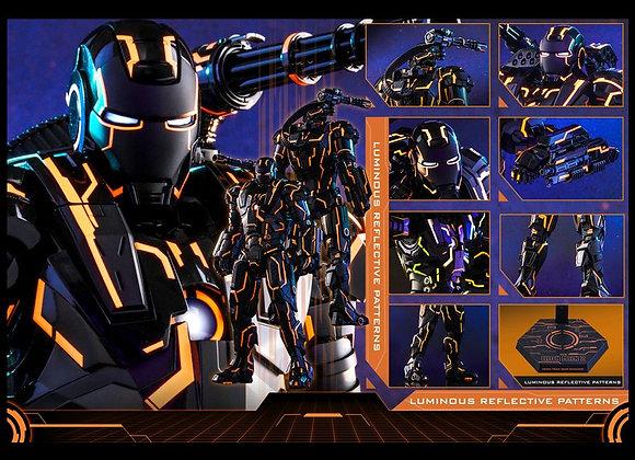 Hot Toys MMS553D35 IRON MAN 2 NEON TECH WAR MACHINE 1/6 D