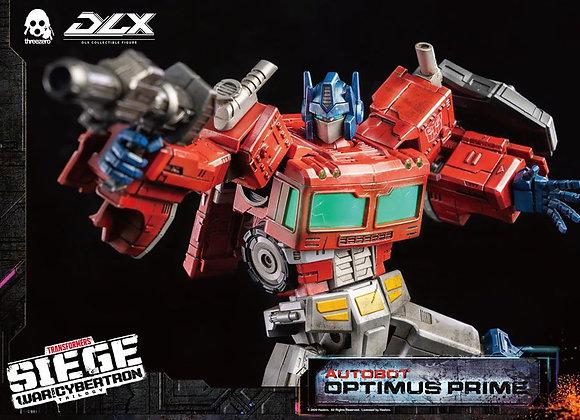 Hasbro x Threezero DLX Optimus Prime Transformers: War For Cybertron Trilogy