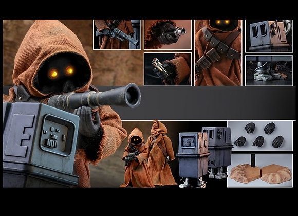 Hot Toys MMS554 STAR WARS IV A NEW HOPE 1/6 JAWA & EG-6 POWER DROID Pre-order