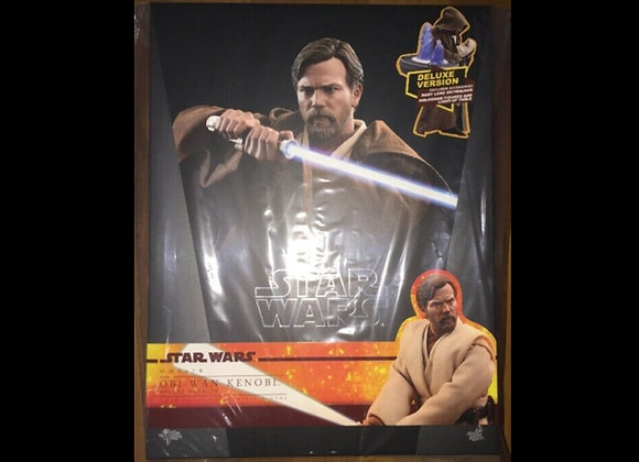 Hot Toys MMS478 STAR WARS REVENGE OF THE SITH 1/6 OBI-WAN KENOBI DELUXE VERSION