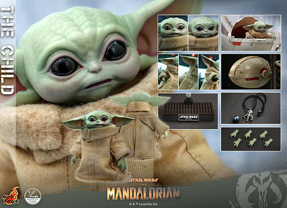 Hot Toys QS018 STAR WARS THE MANDALORIAN 1/4 THE CHILD