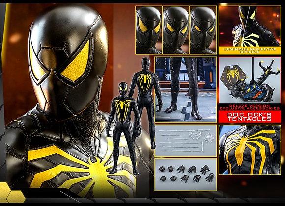 Hot Toys VGM45 MARVEL'S SPIDER-MAN 1/6 SPIDER-MAN (ANTI-OCK SUIT) DELUXE VERSION