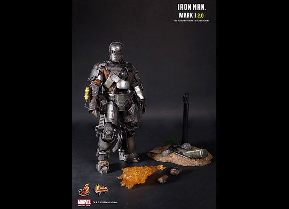 Hot Toys MMS168 IRON MAN 1/6 MARK I (2.0) Regular Edition