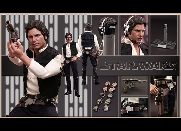 Hot Toys MMS261 STAR WARS: EPISODE IV A NEW HOPE 1/6 Han Solo Regular Edition