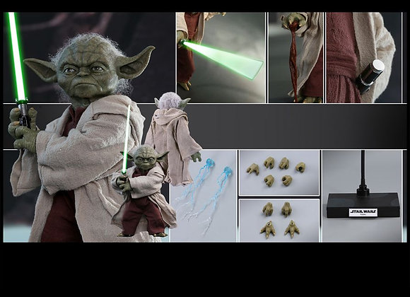 Hot Toys MMS495 STAR WARS ATTACK OF THE CLONES 1/6 YODA