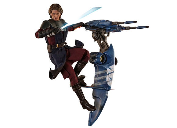 Hot Toys TMS020 STAR WARS: THE CLONE WARS 1/6 ANAKIN SKYWALKER AND STAP REGULAR