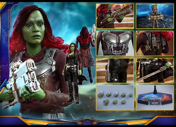 In Stock! Hot Toys MMS483 GUARDIANS OF THE GALAXY VOL. 2 1/6 GAMORA