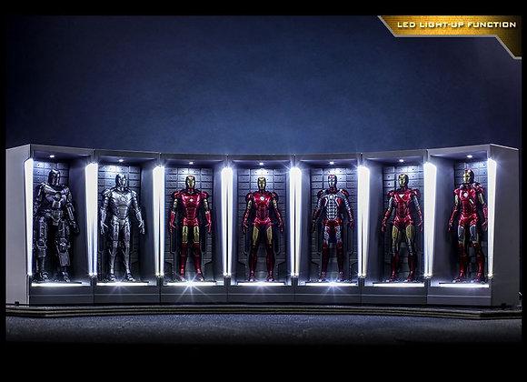 Hot Toys MMSC012 IRON MAN 3 - IRON MAN HALL OF ARMOR