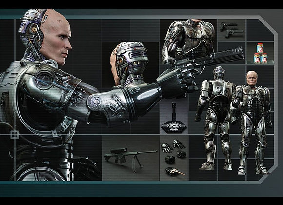 Hot Toys MMS265 ROBOCOP 1/6 ROBOCOP (BATTLE DAMAGED VERSION)