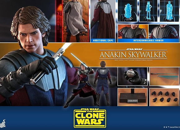 Hot Toys TMS019 STAR WARS: THE CLONE WARS 1/6 ANAKIN SKYWALKER SPECIAL