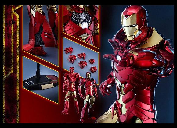 Hot Toys MMS396 IRON MAN 3 1/6 SNEAKY MARK XV (RETRO ARMOR VERSION)