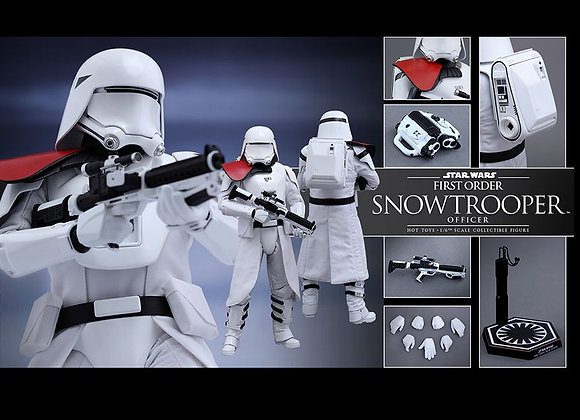 Hot Toys MMS322 STAR WARS: THE FORCE AWAKENS 1/6 FIRST ORDER SNOWTROOPER OFFICER