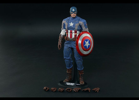 Hot Toys MMS240 CAPTAIN AMERICA 1/6 GOLDEN AGE VERSION MOVIE PROMO EDITION