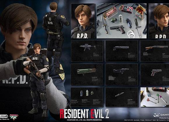 Damtoys DMS030 Resident Evil 2 - LEON S.KENNEDY 1/6 Figure