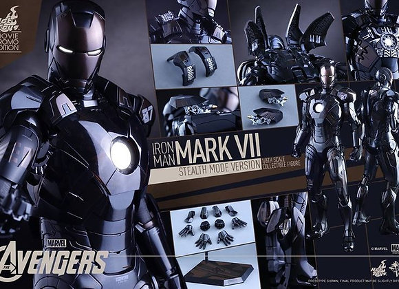 Hot Toys MMS282 THE AVENGERS 1/6 IRON MAN MARK VII (STEALTH MODE VERSION)