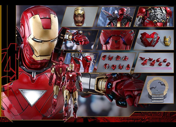 Hot Toys MMS378D17 IRON MAN 2 1/6 MARK Vi REGULAR EDITION