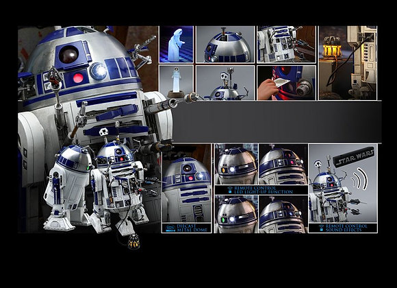 Hot Toys MMS511 STAR WARS 1/6 R2-D2 DELUXE VERSION