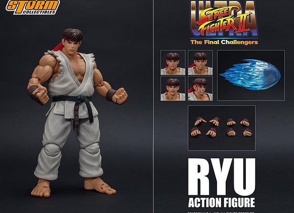Storm Collectibles RYU - USFII ACTION FIGURE 1/12 Figure