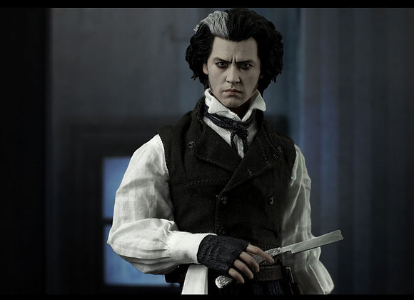 Hot Toys MMS149 SWEENEY TODD 1/6 Figure