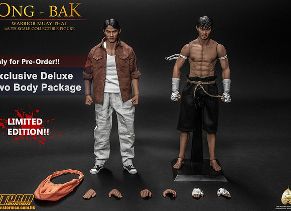 Storm Collectibles ONG-BAK 1/6 THE THAI WARRIOR (TONY JAA) 2 Body Deluxe Version