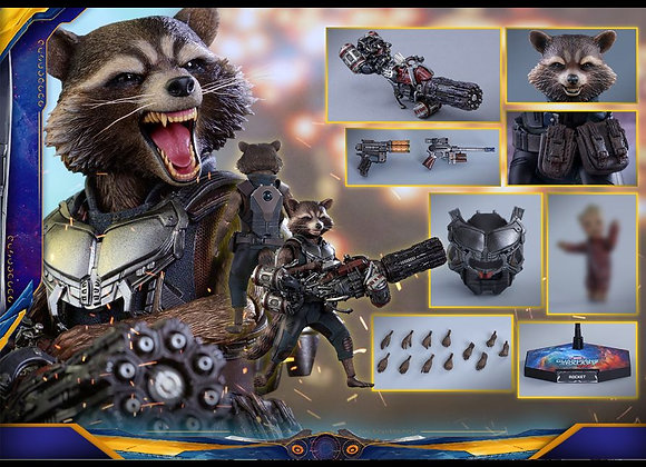 Hot Toys MMS411 GUARDIANS OF THE GALAXY VOL. 2 1/6 ROCKET (DELUXE VERSION)