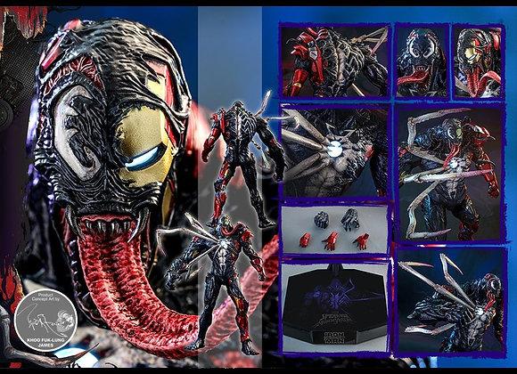 Hot Toys AC04 MARVEL'S SPIDER-MAN: MAXIMUM VENOM 1/6 VENOMIZED IRON MAN Standard