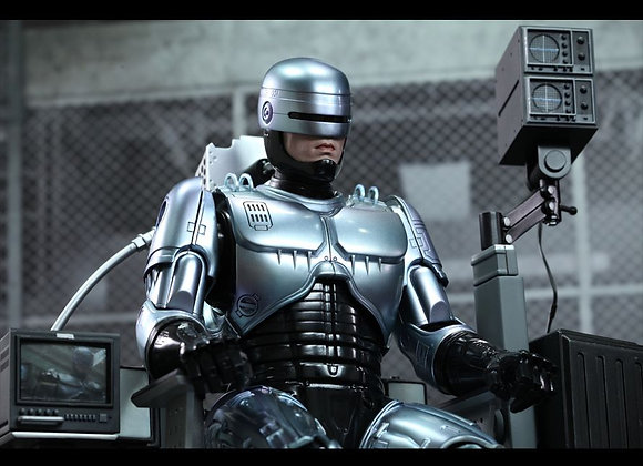 Hot Toys MMS203D05 ROBOCOP 1/6 ROBOCOP COLLECTIBLE FIGURE WITH MECHANICAL CHAIR