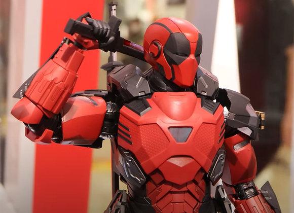 Hot Toys CMS09D24 Armorized Warrior 1/6th Armored Deadpool Regular Edition