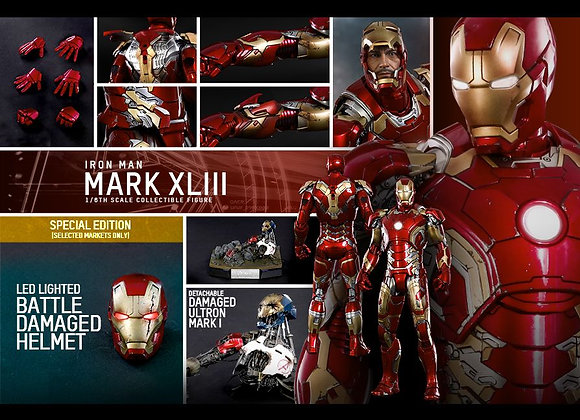 Hot Toys MMS278D09 AVENGERS AGE OF ULTRON 1/6 MARK XLIII SPECIAL EDITION