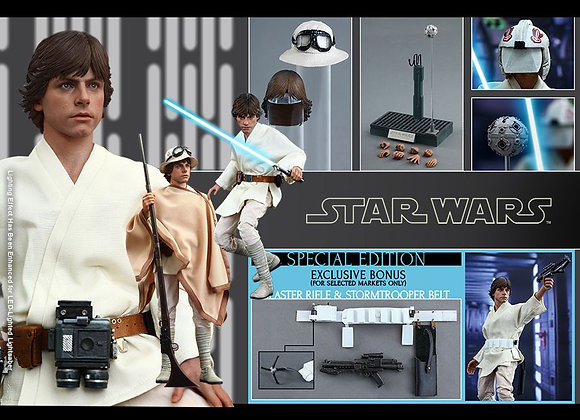 Hot Toys MMS297 STAR WARS IV A NEW HOPE 1/6 LUKE SKYWALKER SPECIAL EDITION