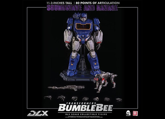 Threezero Transformers BUMBLEBEE – DLX SOUNDWAVE AND RAVAGE Pre-order