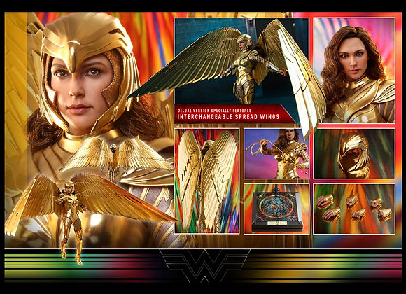 Hot Toys MMS578 WONDER WOMAN 1984 1/6 GOLDEN ARMOR WONDER WOMAN (DELUXE VERSION)
