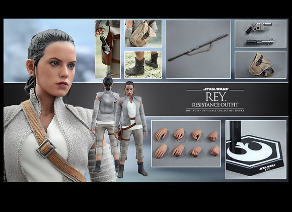 Hot Toys MMS377 STAR WARS THE FORCE AWAKENS 1/6 Rey (Resistance Outfit)