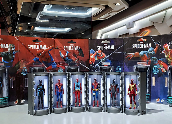 In Stock! Hot Toys VGMC016 - 021 MARVEL'S SPIDER-MAN ARMORY (SERIES 2)