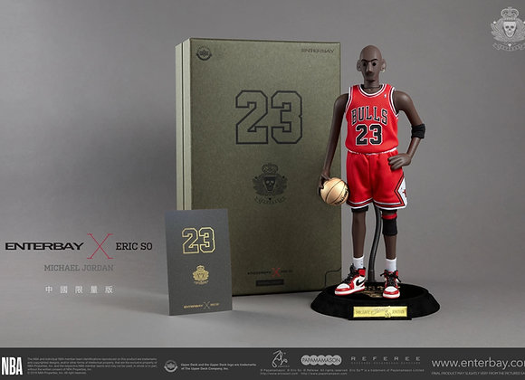 ENTERBAY 1/6 ENTERBAY X ERIC SO MICHAEL JORDAN –CHINA LIMITED EDITION (AWAY)