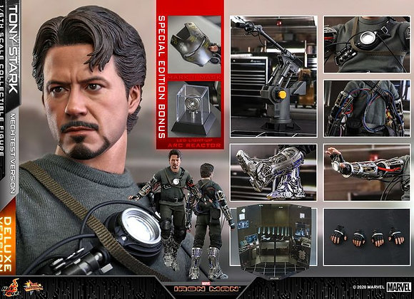 Hot Toys MMS582 IRON MAN 1/6 TONY STARK (MECH TEST VERSION) DELUXE SPECIAL