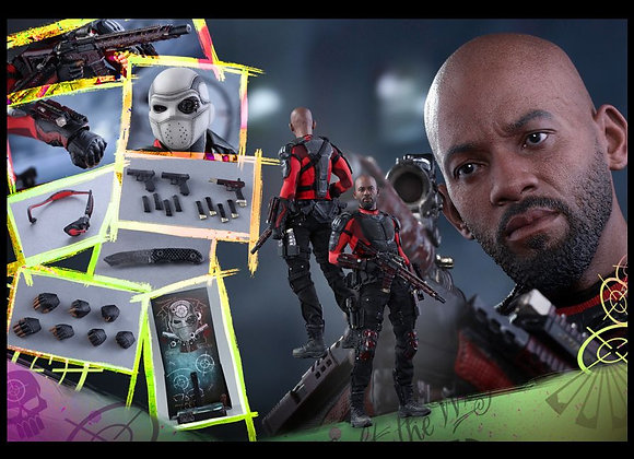 Hot Toys MMS381 SUICIDE SQUAD 1/6 DEADSHOT REGULAR EDITION