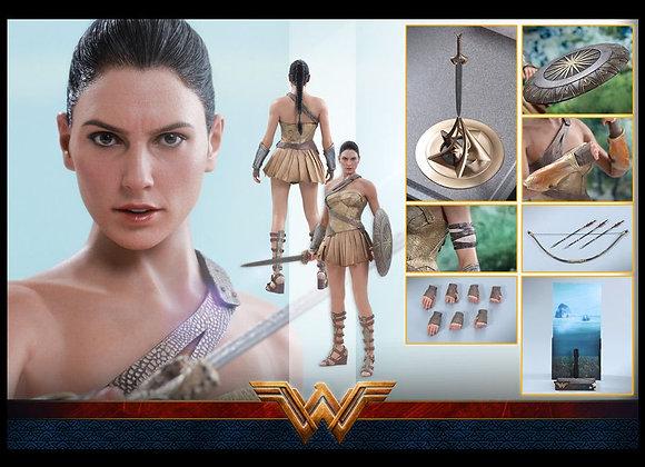 Hot Toys MMS424 WONDER WOMAN 1/6 (TRAINING ARMOR VERSION)