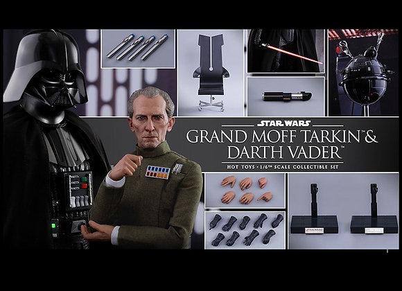Hot Toys MMS434 STAR WARS IV A NEW HOPE 1/6 GRAND MOFF TARKIN & DARTH VADER