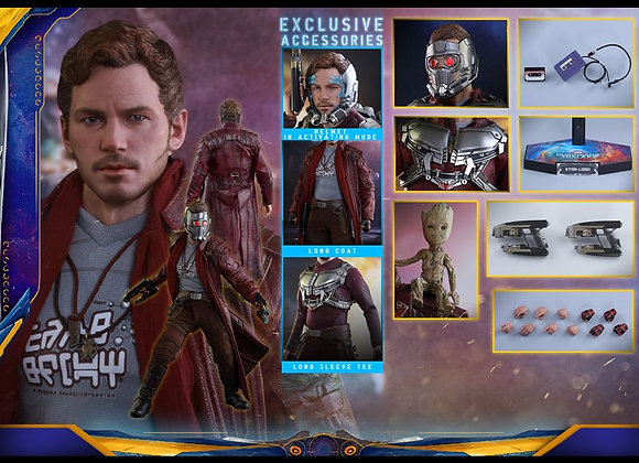 Hot Toys MMS421 GUARDIANS OF THE GALAXY VOL. 2 1/6 STAR-LORD (DELUXE VERSION)