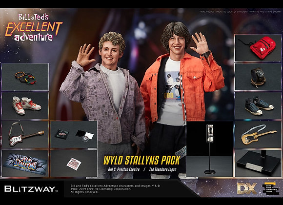 Blitzway BW-UMS 10701 Bill & Ted's Excellent Adventure Figures Set
