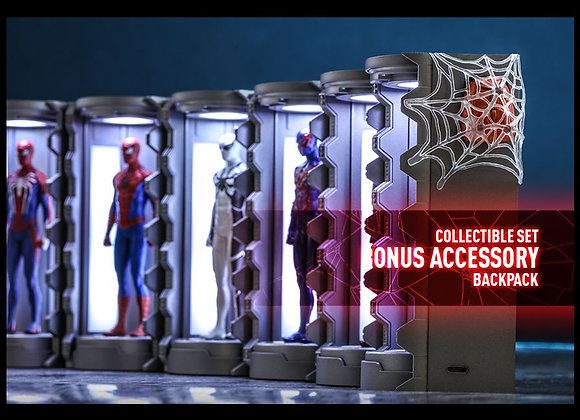 Hot Toys VGMC008 MARVEL'S SPIDER-MAN - SPIDER-MAN ARMORY