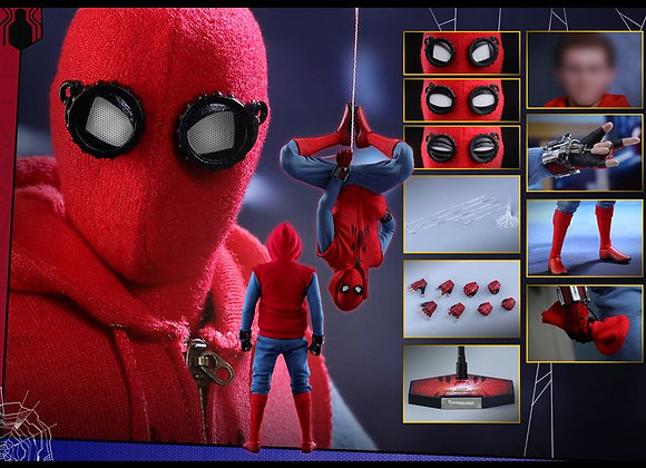 Hot Toys MMS414 SPIDER-MAN: HOMECOMING 1/6 SPIDER-MAN (HOMEMADE SUIT VERSION)