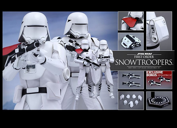 Hot Toys MMS323 STAR WARS: THE FORCE AWAKENS 1/6 FIRST ORDER SNOWTROOPERS