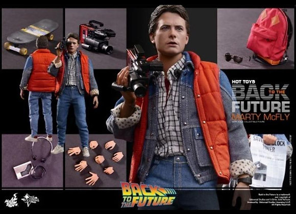 Hot Toys MMS257 BACK TO THE FUTURE 1/6 MARTY MCFLY REGULAR EDITION