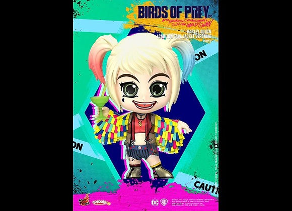 Hot Toys COSB701 BIRDS OF PREY HARLEY QUINN CAUTION TAPE JACKET VERSION COSBABY