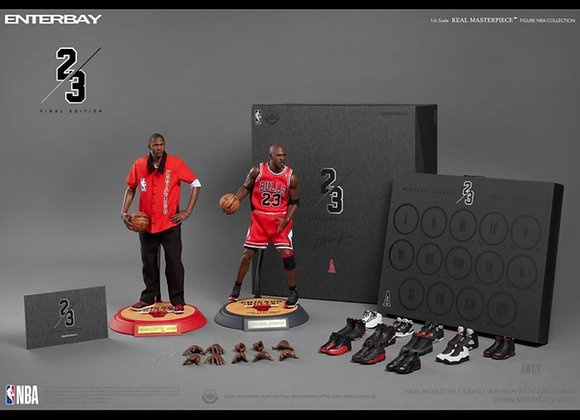 ENTERBAY 1/6 MICHAEL JORDAN ACTION FIGURE- AWAY (FINAL LIMITED EDITION)