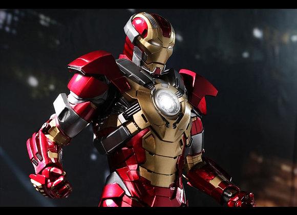 Hot Toys MMS212 IRON MAN 3 1/6 HEARTBREAKER (MARK XVII)